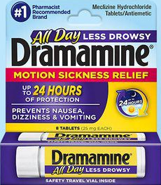 Dramamine® All Day Less Drowsy