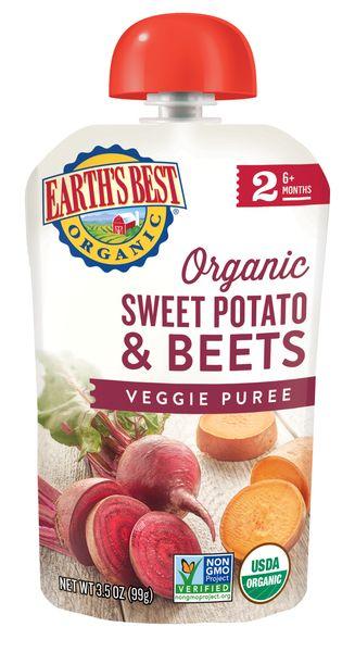 Earth's Best Organic® Sweet Potato and Beets Veggie Puree