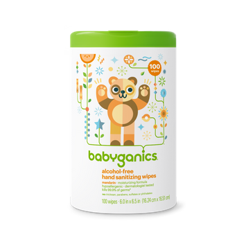 babyganics alcohol-free hand sanitizing wipes mandarin