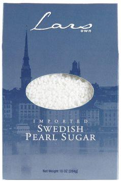 Lars Own Swedish Pearl Sugar, 10 oz, - Pack of 6