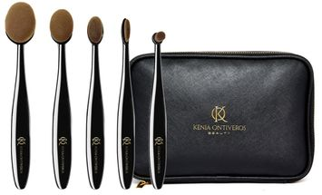 Kenia Ontiveros Supreme Brush Set With Bag
