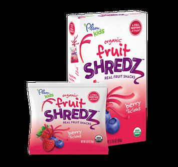 Plum Organics Shredz® Berry'Licious