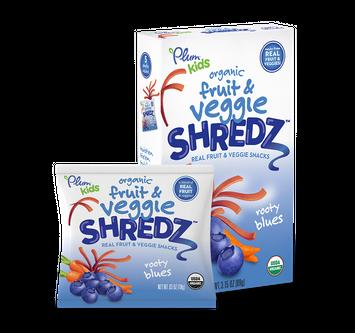 Plum Organics Shredz® Rooty Blues