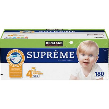 Kirkland Signature Supreme Diapers Size 4
