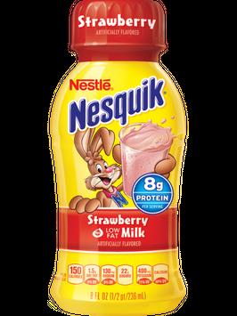Nesquik® Strawberry Low Fat Milk