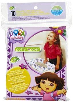 Neat Solutions Dora the Explorer 10-Pack Potty Topper