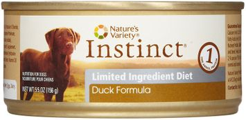 ture's Variety Instinct Limited Ingredient Diet Duck Canned Dog Food Size: 5.5 oz.