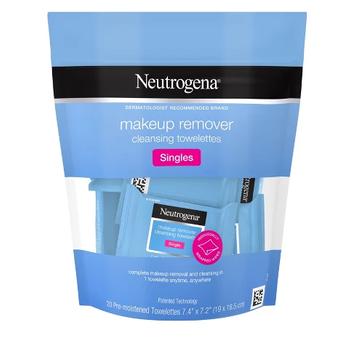 Neutrogena Cleansing Facial Wipes Singles