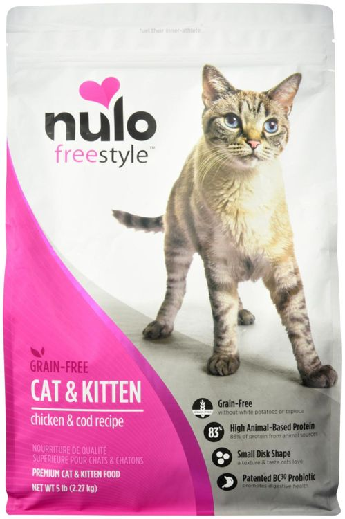 Nulo FreeStyle Grain Free Chicken and Cod Recipe Dry Cat Food