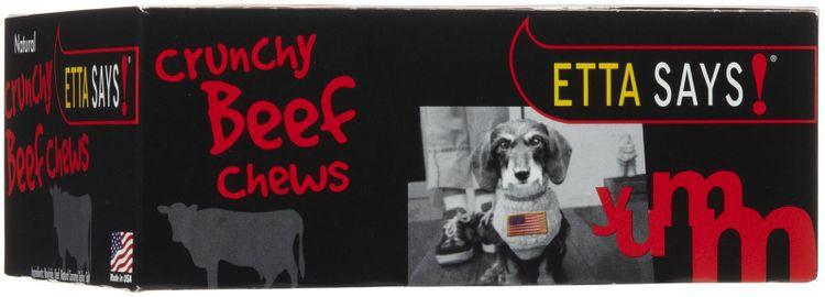 Etta Says! Beef Chew Box - 4-inch - 36 count