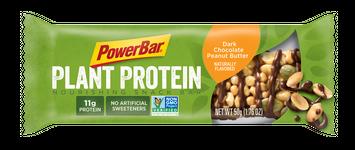 PowerBar Plant Protein Nourishing Snack Bar Dark Chocolate Peanut Butter