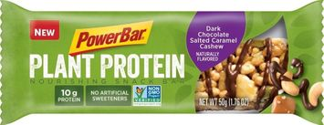PowerBar Plant Protein Nourishing Snack Bar Dark Chocolate Salted Caramel Cashew