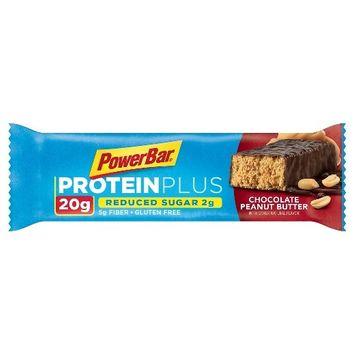 PowerBar Protein Plus Reduced Sugar Bar Chocolate Peanut Butter