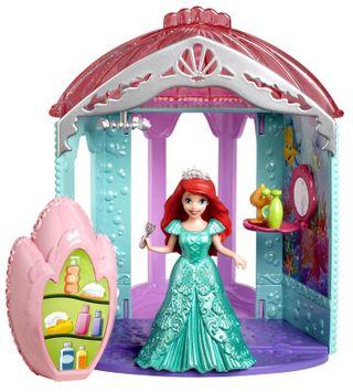 Mattel Girls Disney Princess Little Kingdom Ariel's Flip 'n Switch Castle Playset