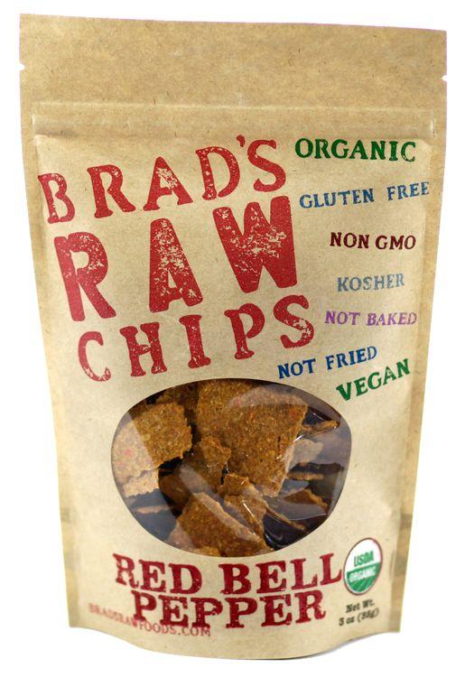 Brad's Raw Chips Red Bell Pepper