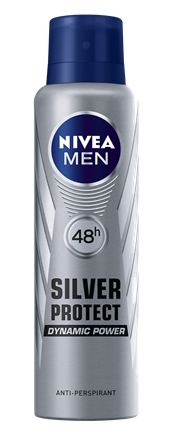 NIVEA for Men Silver Protect Deodorant