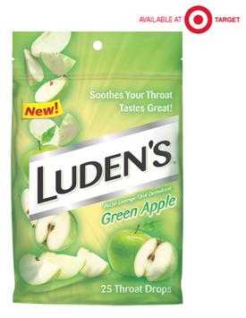 Luden's® Green Apple Throat Drops