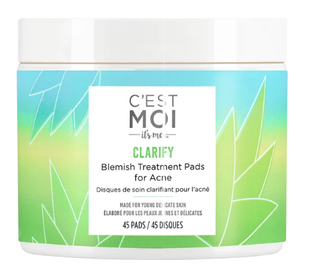 C'est Moi Clarify Blemish Treatment Pads for Acne