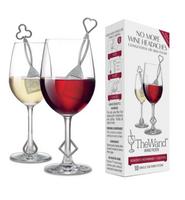 Purewine The Wand Silver Polypropylene Wine Filter