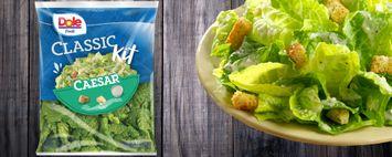 Dole Fresh Classic Caesar Salad Kit