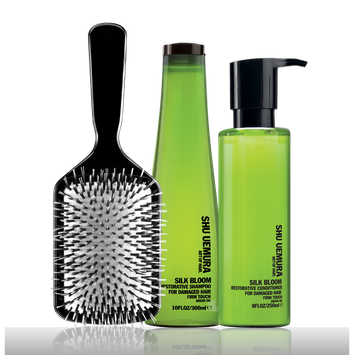 Shu Uemura Silk Bloom Restorative Gift Set For Damaged Hair