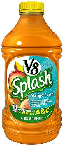 V8 Splash® Mango Peach Juice