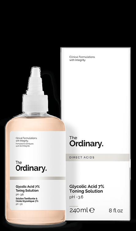 The Ordinary. Glycolic Acid 7% Toning Solution