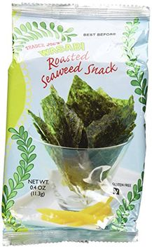 Trader Joe's Wasabi Roasted Seaweed Snack