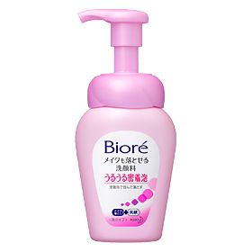 Bioré Uru Uru 2-in-1 Instant Foaming Wash
