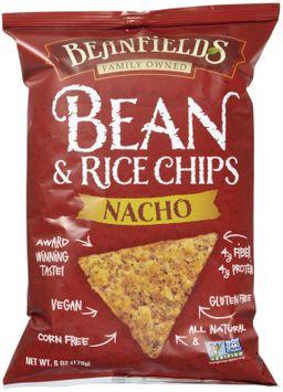 Beanfields Bean & Rice Chips Nacho - 6 oz - Vegan
