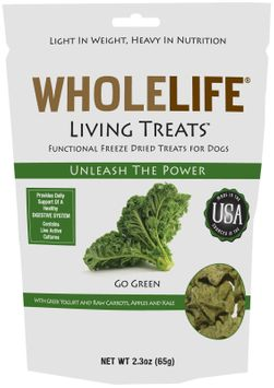 Whole Life Pet Products Whole Life Living Treats for Dogs Kale 2.3 oz