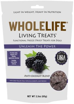 Whole Life Pet Products Whole Life Living Treats for Dogs Berry 2.3 oz