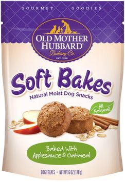Old Mother Hubbard Soft Bakes with Applesauce and Oatmeal Dog Treats