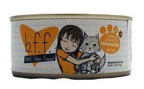 Best Feline Friend BFF Canned Cat Tuna & Shrimp Sweethearts 3 oz Case 12