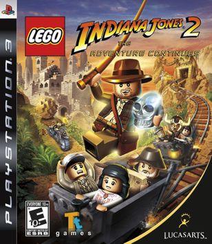 Lucasarts Entertainment Company LucasArts Lego Indiana Jones 2: The Adventure Continues (Playstation 3)