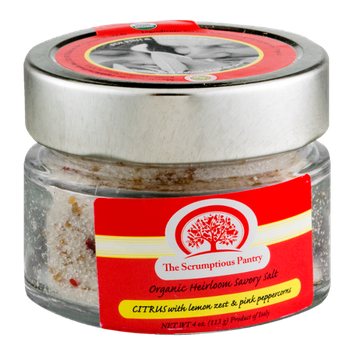 The Scrumptious Pantry Organic Heirloom Savory Salt Citrus