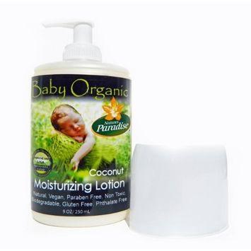 Nature's Paradise, Baby Organic, Coconut Moisturizing Lotion, 6 fl oz (177.4 ml)