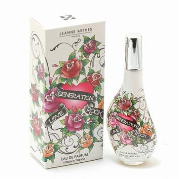 Love Generation Rock by Jeanne arthes Eau De Perfume Spray 2.2 Oz