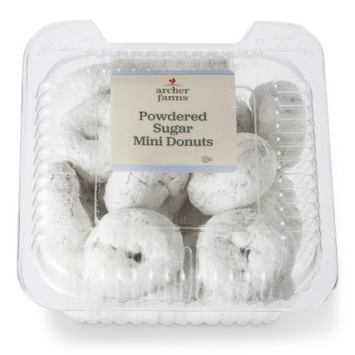 Archer Farms Powdered Mini Donuts Tub