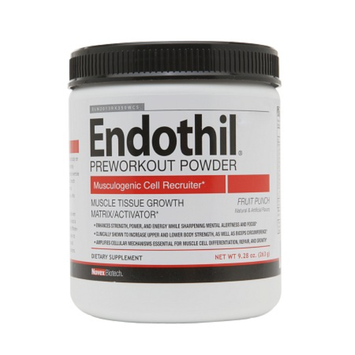 Novex Biotech Endothil Pre-Workout Powder Fruit Punch