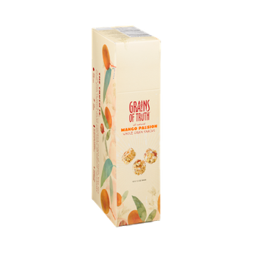 Grains Of Truth Whole Grain Snacks Mango Passion -10 CT