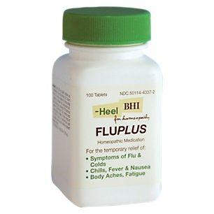 HEEL Fluplus - 100 Tablets - Immune Support Herbs