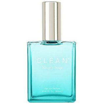 Clean Simply Soap for Women, Eau De Parfum Spray, 2.14 Ounce