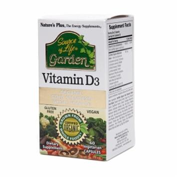 Nature's Plus Source of Life Garden Vitamin D3