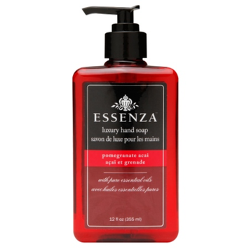 Essenza Luxury Hand Soap, Pomegranate Acai, 12 fl oz