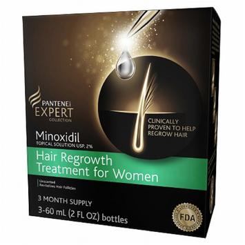 Pantene Pro-V Expert Collection Minoxidil Topical Solution Hair Regrowth Treatment For Women