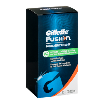 Gillette Fusion Proseries Intense Cooling Lotion