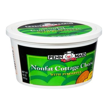 Penn Maid Dairy Nonfat Cottage Cheese with Pineapple