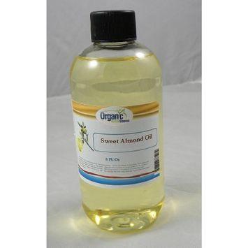 SAAQIN ® Sweet Almond Oil 100% Pure and Organic - 8oz