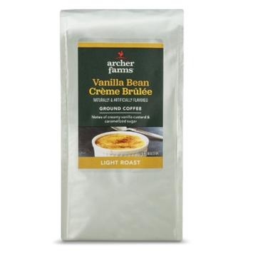 Archer Farms Vanilla Bean Creme Brulee Light Roast Ground Coffee 12 oz